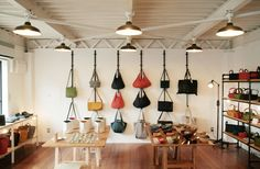 Nice way to display purses