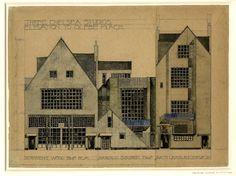 Charles Rennie MacKintosh's designs for Cheyne House
