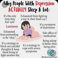 Why people with depression actually sleep a lot? Mental And Emotional Health, Mental Health Quotes, Mental Health Matters, Mental Illness Awareness, Depression Awareness, Understanding Anxiety, Mental Disorders, Psychology Facts, Angst