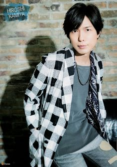 always fall in love with adorable Seiyuu Kamiya Hiroshi ♥ Hiroshi Kamiya, Voice Actor, All Star, Actors & Actresses, The Voice, Sexy, People, Holy Family, Fan