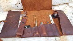 Aficionado Leather Pipe & Tobacco Pouch