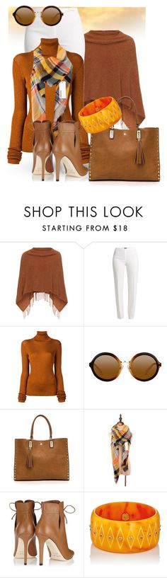 """""""Copper"""" by theserialnester ❤ liked on Polyvore featuring Samoon, Basler, MARIOS, Jimmy Choo and Mark Davis"""
