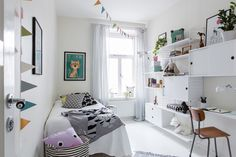 Scandinavian kids room storage shelves Ideas for 2020 Scandinavian Kids Rooms, Scandinavian Interior Design, Study Room Design, Kids Room Design, Gender Neutral Bedrooms, Casa Kids, Magazine Deco, Creative Kids Rooms, Kids Bedroom