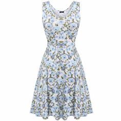 Women Brand Elegant Floral Dress