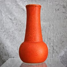 Cowan Pottery Vase #V-86, Oriental Red, Circa 1930