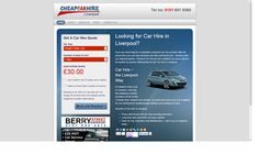 Mini Car Hire website that has had over 10,000% ROI.  Have a look at http://www.cheapcarhireliverpool.co.uk