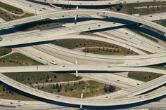Santa Ana/Riverside Freeway Interchange in Los Angeles, California