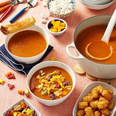 Simple Tomato Soup Recipe -I created this recipe on a bad weather day. My husband, Mic, and my daughter, Liz, ask for this soup constantly. Whenever I send it with my daughter for lunch at school, I always send some for her friend, too. It is pure comfort food. —Lanaee O'Neill, Chico, California