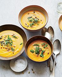 Curried Carrot and Apple Soup Recipe on Food & Wine