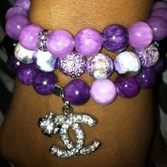 Purple world...... with chanel  !!!!  well who would not want  this !!??.. oooo : c )