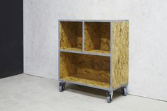 OSB sterling unit on industrial castors