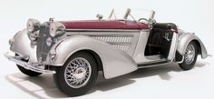 1939 Horch 855 Roadster Convertible Sun Star 2402 Scale 1:18