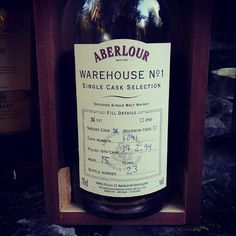 Whisky Vultures' first self bottled single cask. Aberlour 15yo. 1st fill Sherry. Somebody forgot to fill in the ABV... #dramtime #whisky