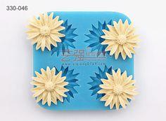 ฟองดอง แม่พิมพ์ในดอกไม้หล่อโปเดอเป็น casamento forma เดซิลิโคน ฟองดอง เค้ก deorating เครื่องมือ