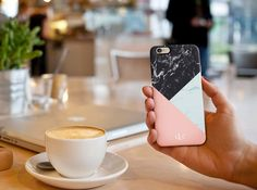 Custom Marble iPhone / Samsung Galaxy S6 Case by LauraCLeBlanc