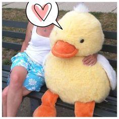 Giant Huge Large Plush Duck Duckie Stuffed Animal Toy Cuddle Toy #KidsofAmericaCorp