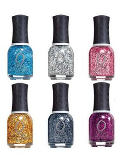 This holographic effect nail collection comes with twenty-two downright prismatic glitter shades that go way beyond being a conversation piece - Orly Flash Glam FX Hyper-Reflective Glitter Nail Lacquer - beauty.com - 10.00