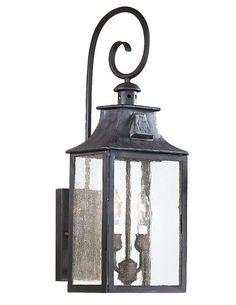 Lantern hook - Troy Lighting Newton Outdoor Wall Mount Lantern TR-BCD9002OBZ $376.00