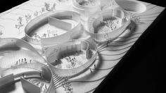 Designed by BIG in Montpellier,France BIG has been announced as the winner of an international design competition for the new Cité du Corps Humain (Museum . Win Competitions, Design Competitions, Montpellier, Body Museum, Bubble Diagram, Big Architects, Interactive Exhibition, Architecture Magazines, Architecture Models