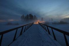 Finland, Sidewalk, Snow, Bridges, Illustration, Water, Outdoor, Gripe Water, Outdoors
