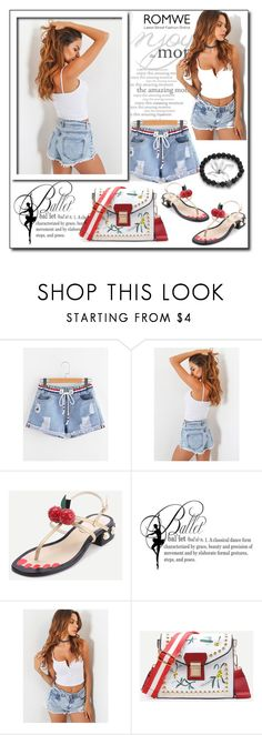 """""""ROMWE 2"""" by woman-1979 ❤ liked on Polyvore featuring WALL"""