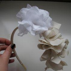 Como nenhum outro: DIY Flower Headband