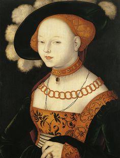 1530 Hans Baldung - Portrait of a Lady