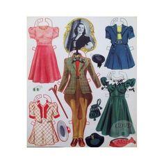 Deanna Durbin paper doll / cdvdmart.com