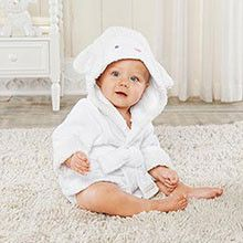 """""""Love You Lamb"""" Hooded Spa Robe (Personalization Available)"""