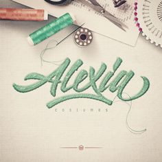 Worked on this logotype for my talented cousin who's starting her own business. Used my skills to help her a little. I wish her all the best with Alexia Costumes. #proud #familyaffair #alexiacostumes #type #typework #lettering #artwork #adobe #illustrator #thedailytype #calligritype #typespire #typeverything #typism #typographyinspired #goodtype #typedaily #typegang #showusyourtype #friendsoftype #actypist #typografi #doodlekrew #maztrone