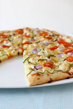 sourdough pizza crust by annieseats. This is a great crust!  Also makes a great focaccia type bread!