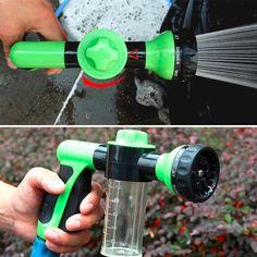 슈퍼 큰 24 센치메터 다기능 자동차 거품 물 총/모터 세탁기 물 총 휴대용 고압 세차 물총 홈 뜨거운