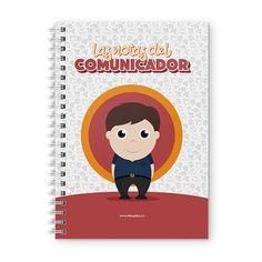 Cuaderno XL - Las notas del comunicador, encuentra este producto en nuestra tienda online y personalízalo con un nombre. Cover, Notebooks, Report Cards, Store