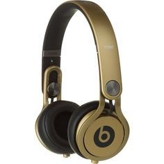 Beats by Dre Mixr High-Definition Headphone (€190) ❤ liked on Polyvore featuring accessories, headphones, electronics, tech ve extra