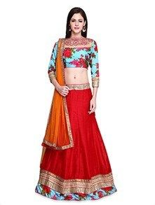 Check out what I found on the LimeRoad Shopping App! You'll love the Red Embroidered Silk Lehenga Set. See it here http://www.limeroad.com/products/9581143?utm_source=3a6cf9723c&utm_medium=android