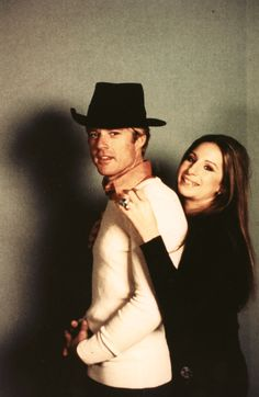 """Robert Redford and Barbra Streisand - Photoshoot for """"The Way We Were"""""""