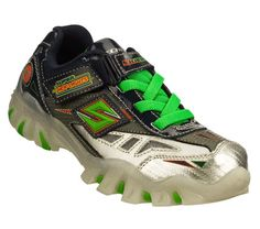 Buy SKECHERS Boys' Super Hot Lights: Street Lightz - Halt Light-Up Shoes only $55.00