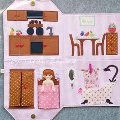 Кукольный дом ручной работы. Сумка-домик с куколкой. Екатерина. Интернет-магазин Ярмарка Мастеров. Сумка-домик, хлопок