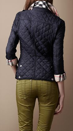 Love this Burberry Quilted Jacket.