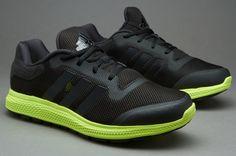 adidas Energy Bounce - Black/Black/Yellow