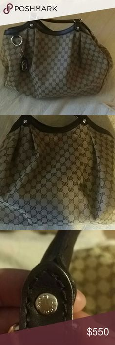 Sukey No wear or tears . Right side wants to fold in .. could use starch other than that she is mint Gucci Bags Shoulder Bags
