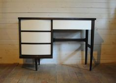 Had one almost like this, and a bedroom set to match from about 1959-64. Didn't have the sense to like it then.