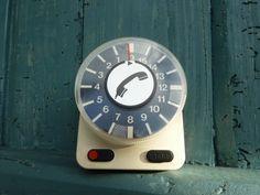 Kurzzeitmesser,+Eieruhr,+Telefonuhr,+Vintage+von+Vintage-Retro-Shop+auf+DaWanda.com