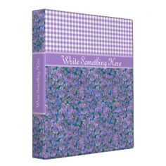 Shop Custom Ring Binder, Violets and Check Gingham Binder created by poshandpainterly. 3 Ring Binders, Binder Inserts, Binder Design, Custom Binders, Violets, Paper Goods, Unique Weddings, Gingham, Stationery
