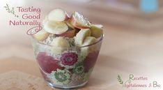 Porridge aux Flocons d'avoine et graines de chia #vegan #végétalien