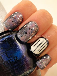 Galaxy / Doctor Who Nails
