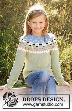 998cb5d0 Ravelry: s34-3 Lamb Dance Sweater pattern by DROPS design