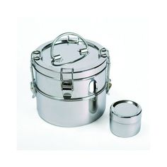 To-Go Ware 2 Tier Stainless Steel Lunchbox & Small Sidekick
