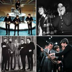 A primeira aparição dos Beatles na tv no programa Ed Sullivan Show