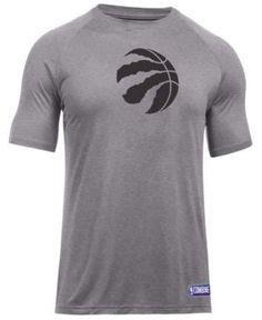 Under Armour Men's Toronto Raptors Primary Logo T-Shirt - Gray XXL